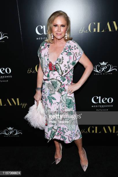 Kathy Hilton attends The Glam App Celebration Event at Cleo on June 19, 2019 in Hollywood, California.