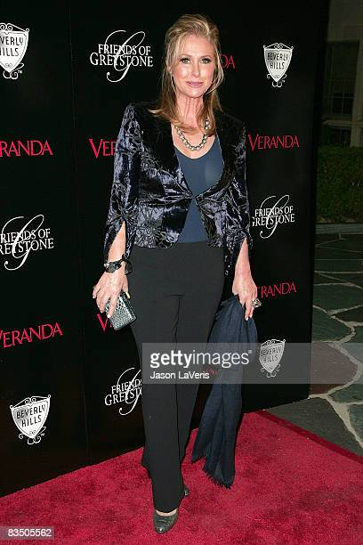 Kathy Hilton attends The Great House grand opening at the Greystone Estate on October 30 2008 in Beverly Hills California