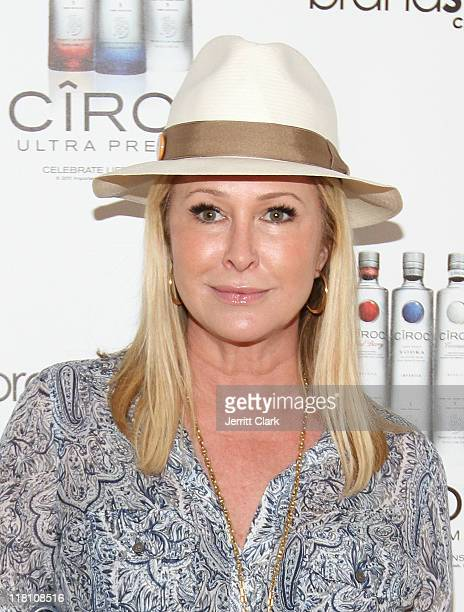 Kathy Hilton attends the Independence Day Weekend Party at the Ciroc Cabana Club on July 3 2011 in Water Mill New York