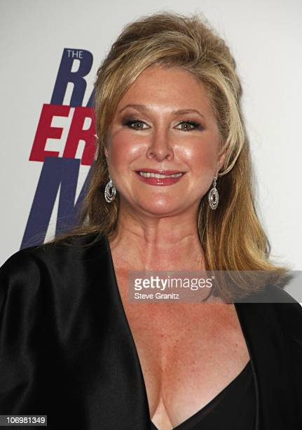 Kathy Hilton during 13th Annual Race to Erase MS Sponsored by Nancy Davis and Tommy Hilfiger Arrivals at Hyatt Regency Century Plaza in Century City...