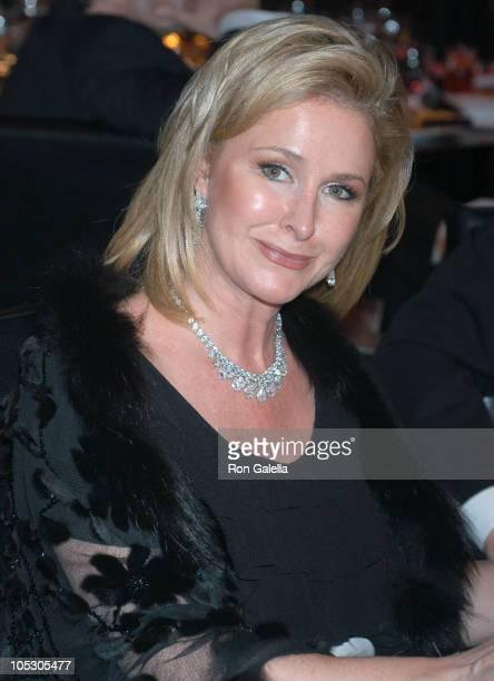 Kathy Hilton during Glamorama Benefit Dinner Dance at Copacabana in New York City New York United States