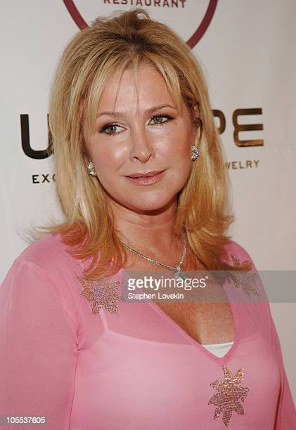 Kathy Hilton during I Want To Be A Hilton Finale After Party at The Palm Restaurant in New York City New York United States