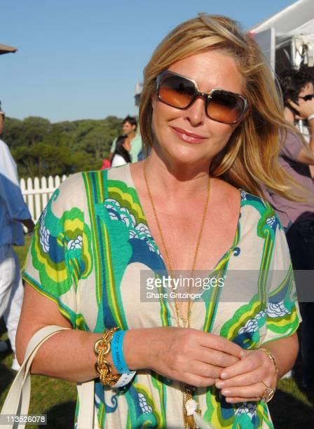 Kathy Hilton during Jessica Biel and The Island Villas at Molasses Reef host the MercedesBenz Polo Challenge at Bridgehampton Polo Club in...