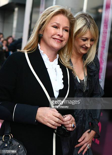 Kathy Hilton during Paris Hilton Arriving at the Launch of New Fragrance Heiress at BT2 in Dublin Ireland