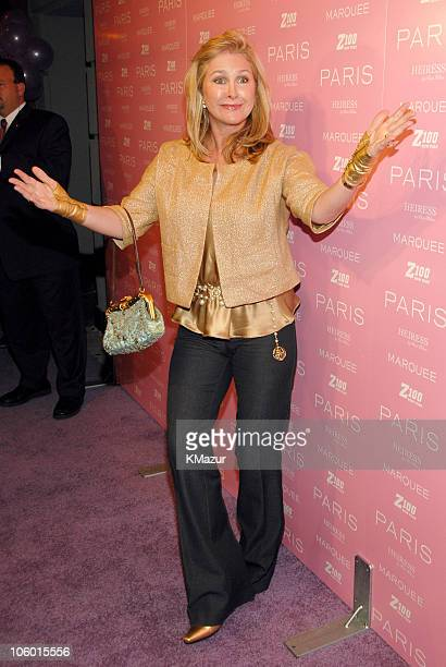 Kathy Hilton during Paris Hilton Record Signing - After Party - Arrivals at Marquee in New York City, New York, United States.