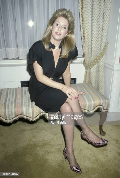 Kathy Hilton during Party In Honor of Contessa Francesca Braschi at Waldorf Towers in New York City New York United States