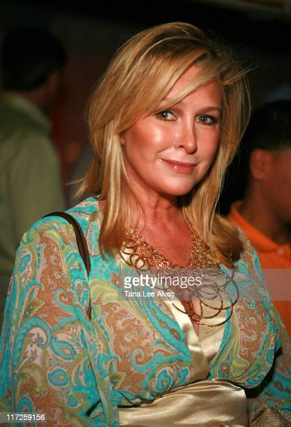 Kathy Hilton during The Cinema Society and The Wall Street Journal Host The Illusionist After Party at Pink Elephant in Southampton, New York, United...