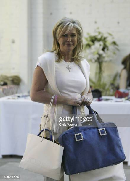 Kathy Hilton during The Silver Spoon Golden Globe Hollywood Buffet Day 1 at Ivar Soho Project in Hollywood California United States