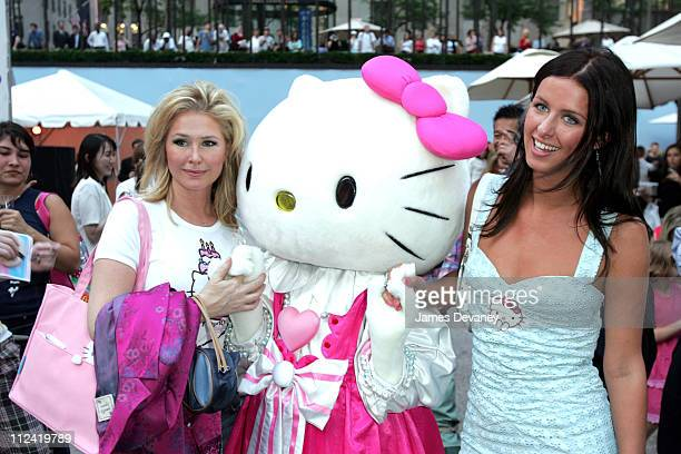 Kathy Hilton Hello Kitty and Nicky Hilton during Hello Kitty Celebrates 30 Years of Cute at Rockefeller Center in New York City New York United States