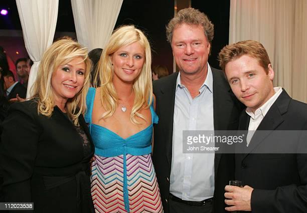 Kathy Hilton, Nicky Hilton, Rick Hilton and Kevin Connolly