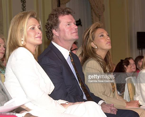 Kathy Hilton Rick Hilton and Denise Rich during Dennis Basso Fashion Show at The Pierre Hotel in New York City New York United States