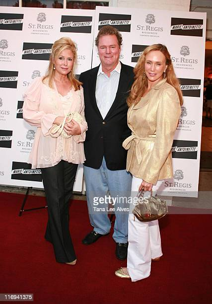 Kathy Hilton Rick Hilton and guest during Robert FX Sillerman and Paul Kanavos Celebrate the St Regis Residences Temenos Anguilla by Hosting a...