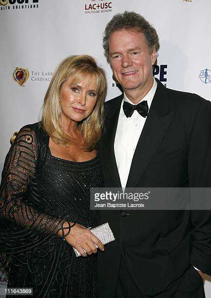 Kathy Hilton Rick Hilton arrive at the King of Hearts gala held at the Beverly Hilton Hotel on November 10 2007 in Beverly Hills California
