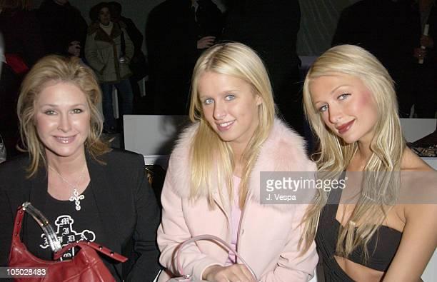 Kathy Hilton with Daughters Nicky Hilton and Paris Hilton
