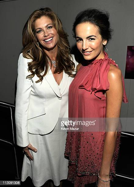 Kathy Ireland and Camilla Belle attend Good Housekeeping's annual Shine On Awards honoring remarkable women at Radio City Music Hall on April 12,...