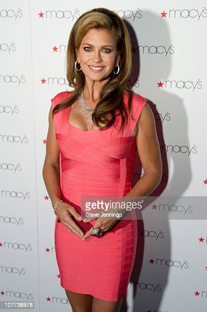 Kathy Ireland appears at Macy's Passport Presents Glamorama at Orpheum Theatre on September 30 2011 in San Francisco California