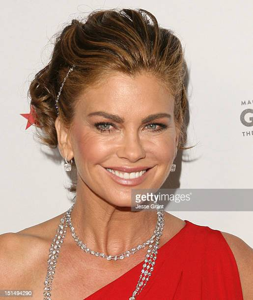 Kathy Ireland arrives at Macy's Passport Presents Glamorama 30th Anniversary in Los Angeles at the Orpheum Theatre on September 7 2012 in Los Angeles...