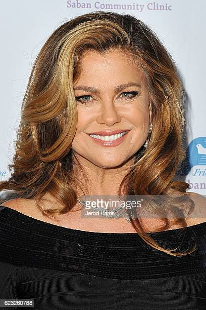 Kathy Ireland arrives at Saban Community Clinic's 40th Annual Dinner Gala at The Beverly Hilton Hotel on November 14 2016 in Beverly Hills California