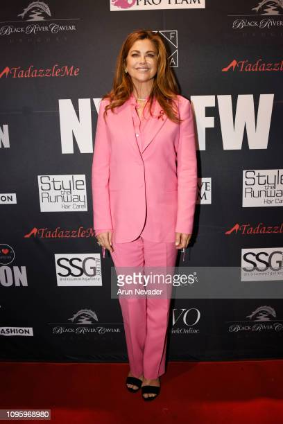Kathy Ireland attends Cocktails Art At New York Fashion Week Powered by Art Hearts Fashion NYFW at The Angel Orensanz Foundation on February 8 2019...