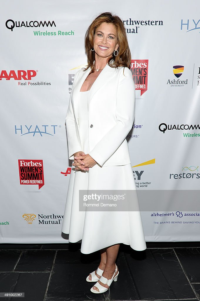 Kathy Ireland attends Forbes Women's Summit:The Entrepreneurship of Everything at 583 Park Avenue on May 15, 2014 in New York City.