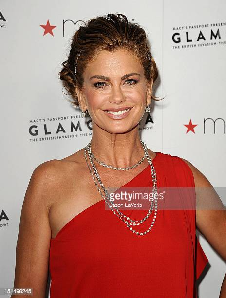Kathy Ireland And Son Erik Olsen Attend Macys Passport Presents
