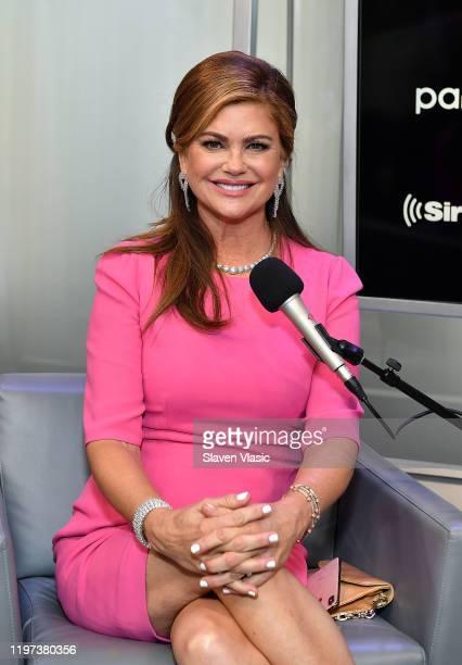 Kathy Ireland attends SiriusXM Business Radio Town Hall hosted By Randi Zuckerberg on January 28, 2020 in New York City.