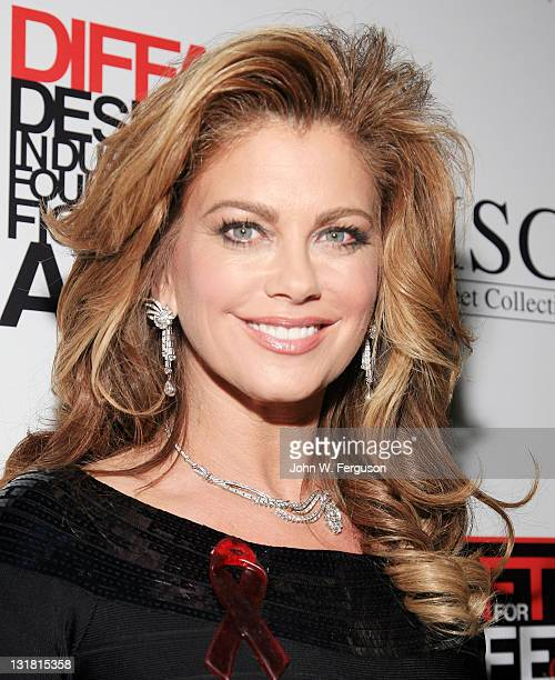 Kathy Ireland attends the 2011 DIFFA Gift For Life fundraising event at Loeb Central Park Boathouse on January 30 2011 in New York City