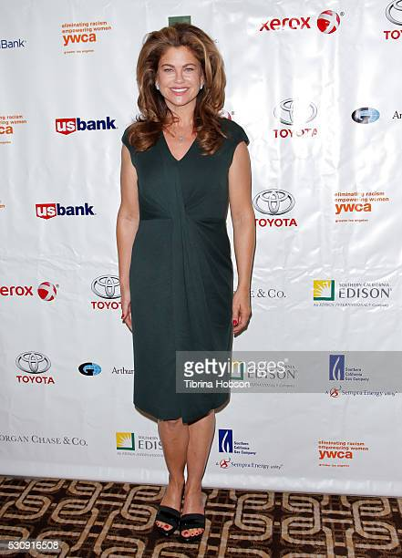 Kathy Ireland attends the 2016 YWCA Phenomenal Woman Awards at Omni Los Angeles Hotel on May 11 2016 in Los Angeles California