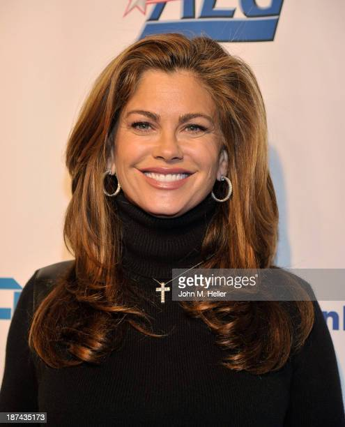 Kathy Ireland attends the greater Los Angeles YWCA Rhapsody Ball at the Beverly Hills Hotel on November 8 2013 in Beverly Hills California