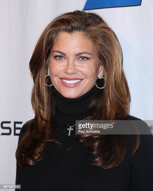 Kathy Ireland attends the Rhapsody Ball at Beverly Hills Hotel on November 8 2013 in Beverly Hills California
