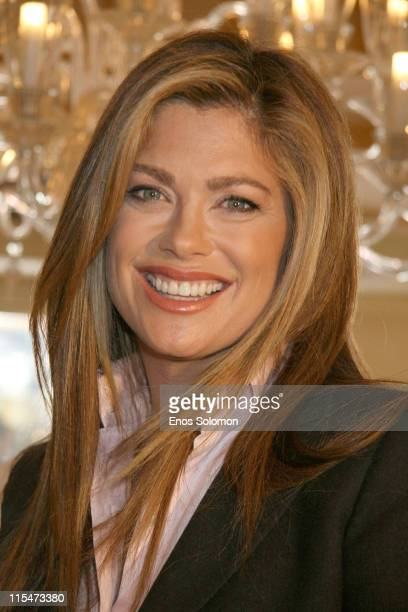 Kathy Ireland during Kathy Ireland Debuts her New Line of House of Taylor Jewelry at Geary's in Beverly Hills California United States