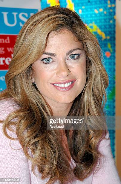 Kathy Ireland during Kathy Ireland Launches National Family Reading Night Campaign in New York City November 16 2005 at FAO Schwartz in New York City...
