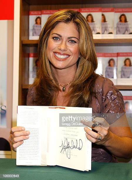 Kathy Ireland during Kathy Ireland Signs Copies Of Her New Book Powerful Inspirations Eight Lessons That Will Change Your Life at Brentano's Beverly...