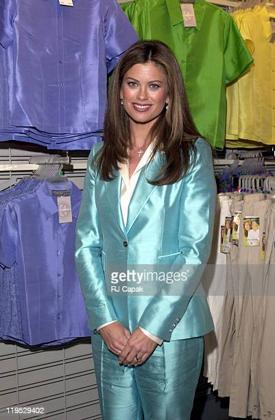 Kathy Ireland during Retail Giant Kmart relaunches it's BlueLight Special at Astor Place Kmart in New York City New York United States