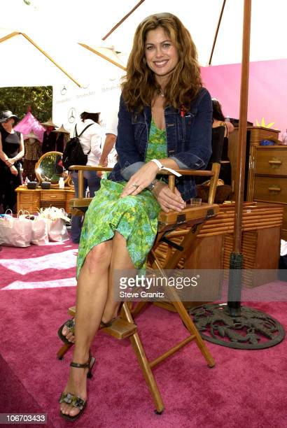 Kathy Ireland during Target A Time For Heroes To Benefit The Elizabeth Glaser Pediatric AIDS Foundation at Mandeville Canyon Park in Los Angeles...