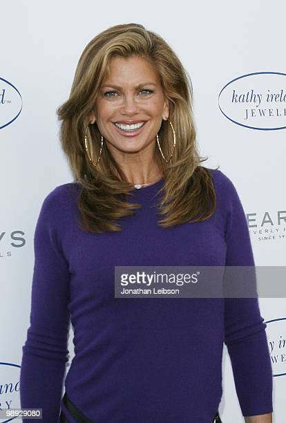 Kathy Ireland hosts a PreMother's Day event at Geary's Beverly Hills on May 8 2010 in Beverly Hills California