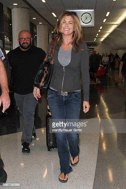 Kathy Ireland is seen at LAX on September 02 2016 in Los Angeles California