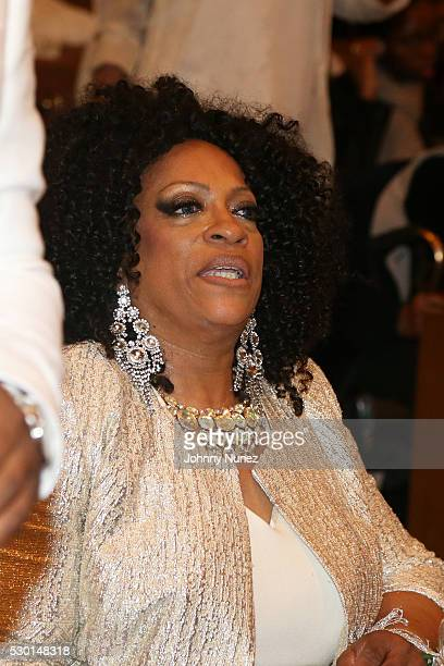 Kathy Jordan Sharpton celebrates her birthday at Canaan Baptist Church of Christ on May 9 2016 in New York City
