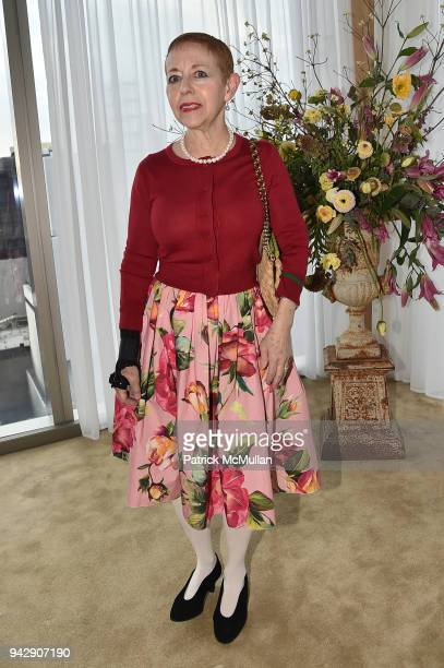 Kathy Kaplan attends the Spring Party to benefit Aperture and to celebrate The Photographer in the Garden at Public Hotel on April 6 2018 in New York...