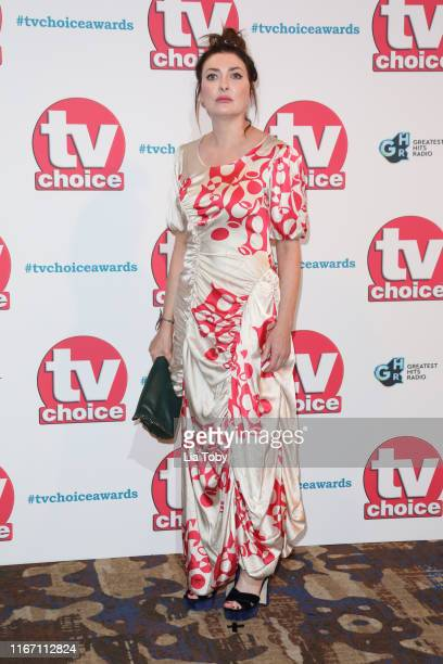 Kathy Kiera Clarke attends The TV Choice Awards 2019 at Hilton Park Lane on September 9 2019 in London England