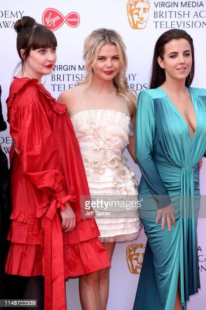 Kathy Kiera Clarke SaoirseMonica Jackson and JamieLee O'Donnell attend the Virgin Media British Academy Television Awards 2019 at The Royal Festival...