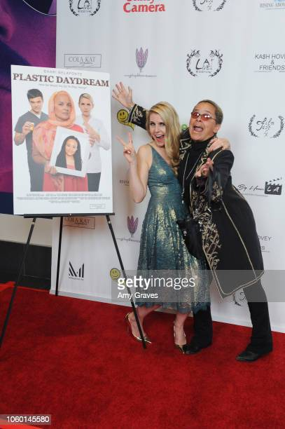 Kathy Kolla and Shari Belafonte attend Kash Hovey Friends Presented By Film Fest LA Big House LA at Regal Cinemas LA LIVE Stadium 14 on November 10...
