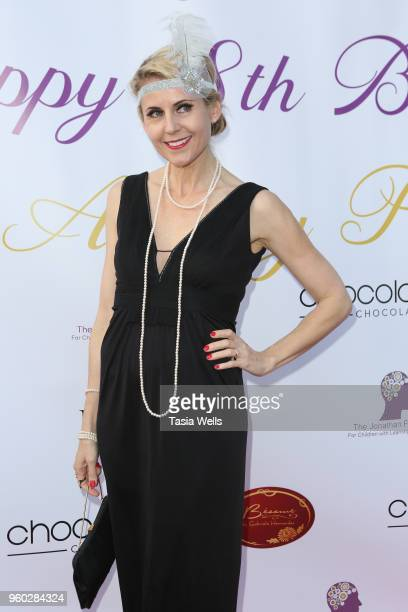 Kathy Kolla attends actress Ainsley Ross birthday party benefiting The Jonathan Foundation Upstairs At Vitellos on May 19 2018 in Studio City...