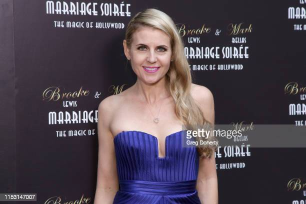 Kathy Kolla attends Brooke Mark's Marriage Soiree The Magic Of Hollywood at the Houdini Estate on June 01 2019 in Los Angeles California