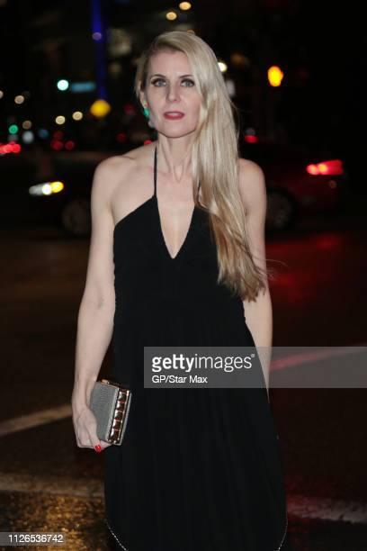Kathy Kolla is seen on February 20 2019 in Los Angeles
