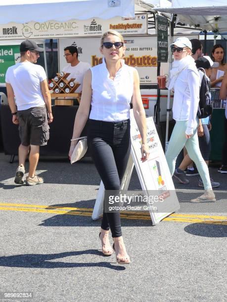 Kathy Kolla is seen on July 01 2018 in Los Angeles California