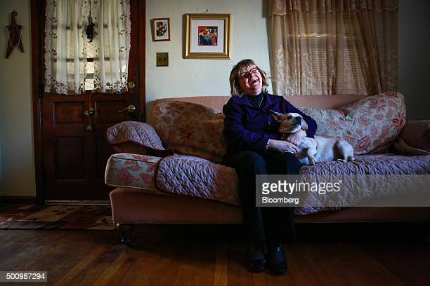 Kathy Kozachenko sits for a photograph at her home in Pittsburgh Pennsylvania US on Saturday Dec 5 2015 Kozachenko's successful bid for a seat on the...