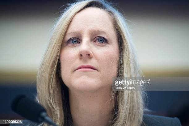 Kathy Kraninger director of the Consumer Financial Protection Bureau testifies at a House Financial Services Committee hearing titled Putting...