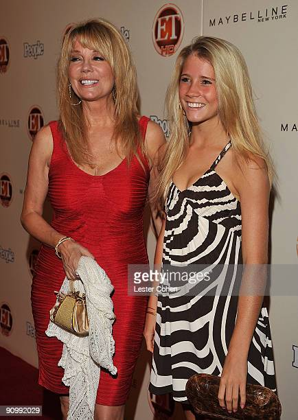 Kathy Lee Gifford and daughter, Cassidy arrive at the 13th Annual Entertainment Tonight and People Magazine Emmys After Party at the Vibiana on...