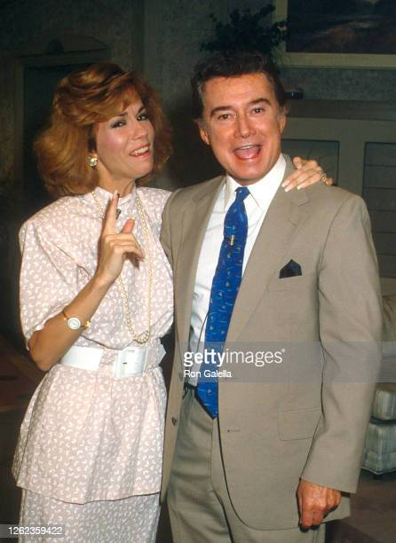 Kathy Lee Gifford and Regis Philbin attend Good Morning America Taping at NBC TV Studios in New York City on April 26, 1988.